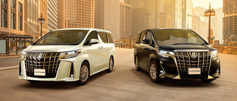 香港包车车型丰田阿尔法