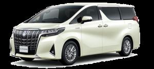 香港包车服务车型丰田阿尔法白色